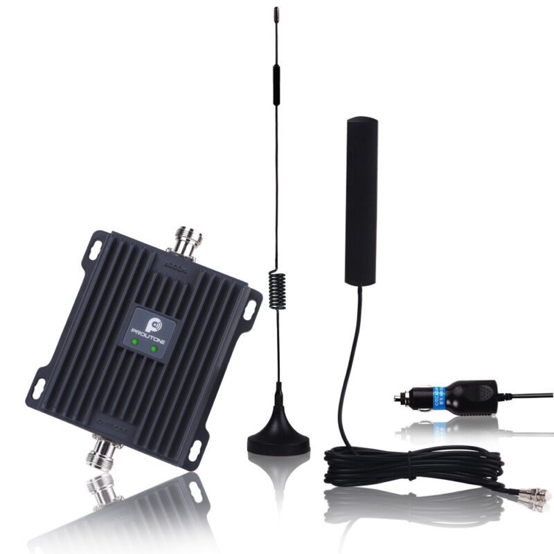 4G LTE AT&T Verizon 700MHz Cell Phone Voice Data Signal Booster Car RV Truck