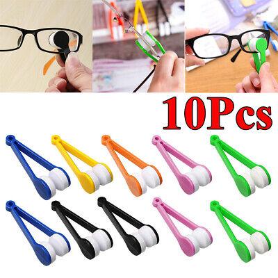10Pcs Lunettes Outil de Nettoyage pince microfibre nettoyant lunette vue soleil