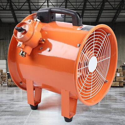 Ex Ventilator Explosion Proof Axial Fan 12 Inch 110v 2650cfm Warehouse Powerful