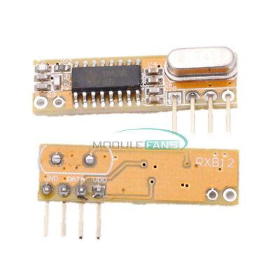 2pcs Super-heterodyne Rf Wireless Receivers Module 433mhz X-rxb12 For Arduino