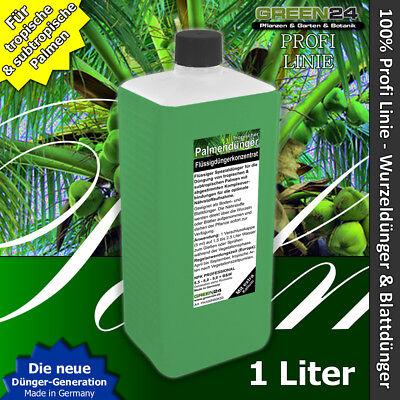 Palmendünger Profi XL 1 Liter NPK Dünger flüssig f. Palmen Wurzel- &