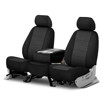 For Chevy Silverado 1500 07-11 Fia Series 1st Row Black & Charcoal Seat Covers