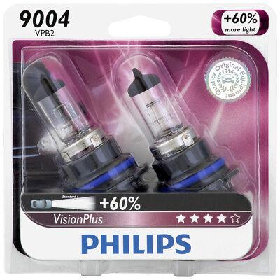 - Headlight Bulb-VisionPlus - Twin Blister Pack PHILIPS 9004VPB2