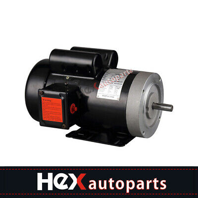 New Electric Motor 56c Single Phase Tefc 115230 Volt 3450 Rpm2 Hp