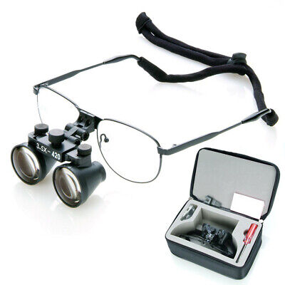 3.5x-420mm Dental Loupe Binocular Magnifier Surgical Ickel Alloy Frame Dy-104 Ce
