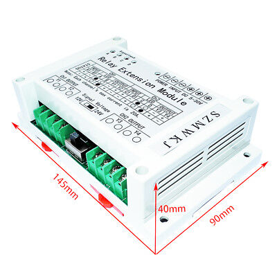 2 Channel 4 Way Relay Extension Module 40a Relay Controller For Dc Motor Dc Load