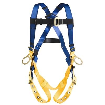 Werner Fall Protection Harness Litefit Positioning 3 D Rings Harness