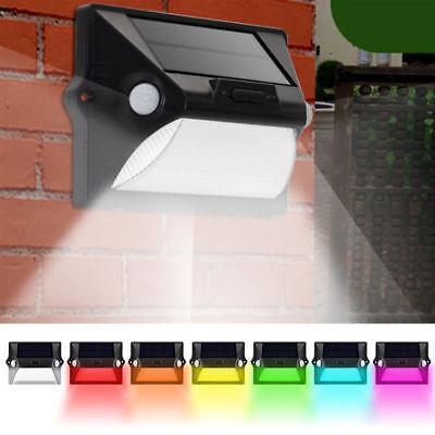 LED Solarleuchte Gartenbeleuchtung Lampe Leuchte Solar Licht mit Bewegungsmelder