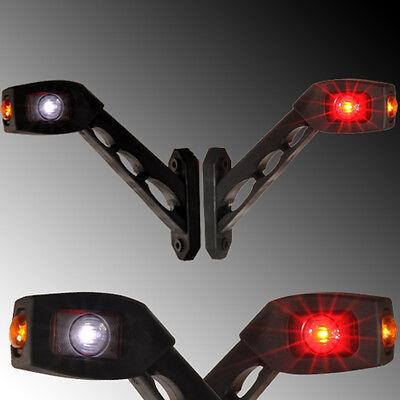 2x LED Begrenzungsleuchte Umrissleuchte LKW Anhänger 12V 24V Positionleuchte NEU