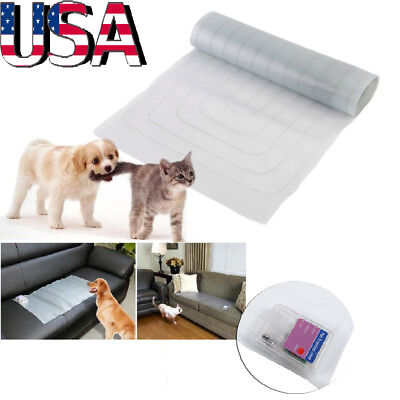 19*47inch Electronic Repellent Dog Cat Barrier Pet Training Mat Safe Shock Scat