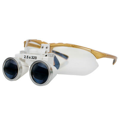 Multi-function Dental Surgical Medical Binocular Loupes 2.5x 320mm Magnifying Ce