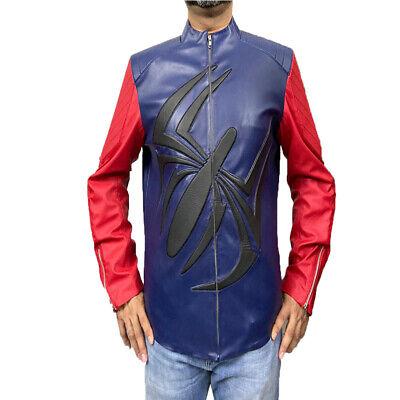 Men Halloween Costumes Ideas 2019 (Scarlet Spider Spider Logo Costume Jacket - Halloween Gift)