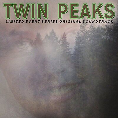 Twin Peaks   The Limited Event Series Soundtrack  New 2 X 12  Neon Green Vinyl