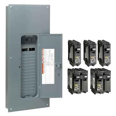 Square-d 150-amp 30-space 60-circuit Indoor Main-breaker Panel Box Load-center