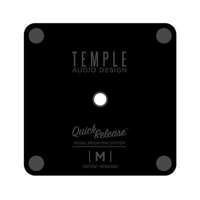 Temple Audio Design Medium Quick Release Pedal Plate with Screw 2.23in x 2.23in