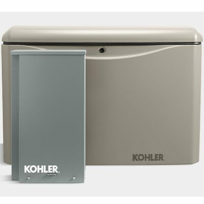 Kohler 14kw Aluminum Standby Generator System 200a Service Disconnect Switch...