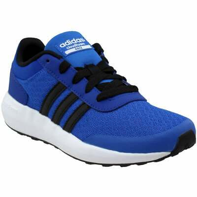 adidas Cloudfoam Race  Casual Running Stability Shoes - Blue - Boys