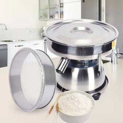 Electric Mechanical Powder Sieve Shaker Vibrating Sieve Equipment W Mesh 50w