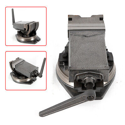 5 Inch Angle-locking Milling Vise W Swivel Base Precision Milling Vise Us Stock