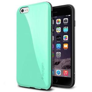 iPhone 6 Plus Case, Spigen [ANTI-SHOCK] Capella Case for iPhone 6 Plus (5.5-Inch) - Mint (SGP11084)