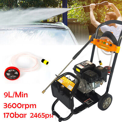 2.4 Gpm Gas Power Portable High Pressure Washer Surface Cleaner Gun 5 Nozzles De