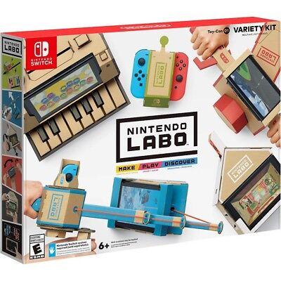 Nintendo Labo Variety Kit For Nintendo Switch New Nib Fast Shipping Sealed Mint