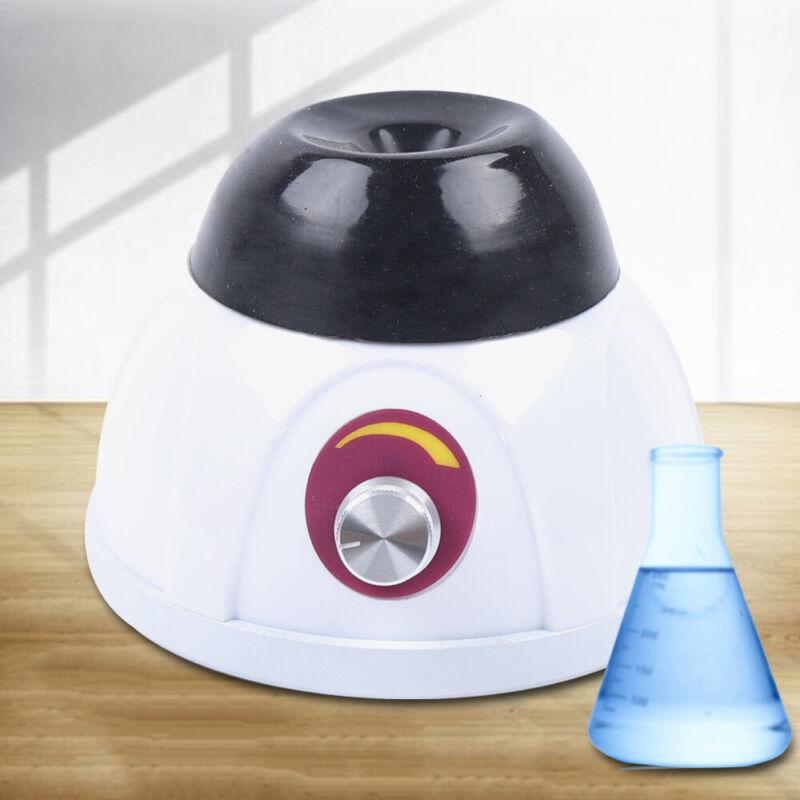 12W 0-4000 RPM Lab Point Moving Vortex Shaker Mixer Compact Test Tube Oscillator