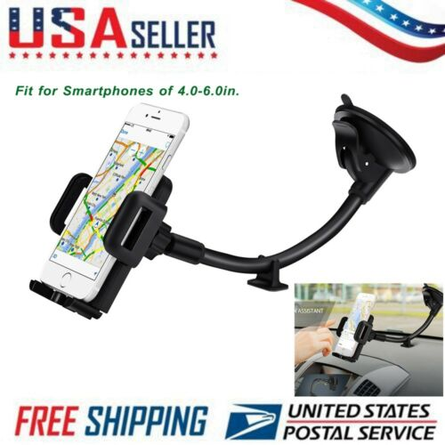 Mpow Cell Phone Holder for Car Windshield Long Arm Car Mount