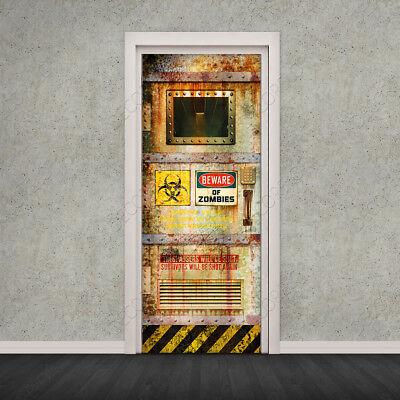 Vinilo Auto Adhesivo Puerta / Nevera / Pared / Fotomural / Beware...
