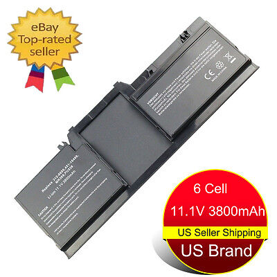(New 6 Cell Laptop Battery for Dell Latitude XT XT2 XFR Tablet PC PU536 WR015 USA)