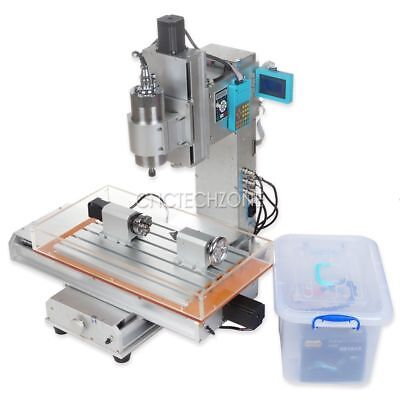 1500w 4 Axis 3040 Cnc Router Engraving Machine Table 110v220v Lcd W 1.5kw Vfd