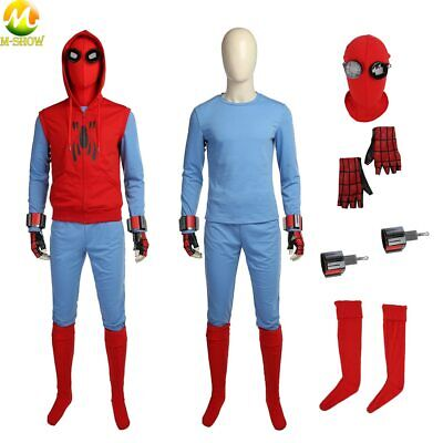 Spiderman Costume For Halloween (Spider-Man Homecoming Cosplay Costume Superhero Spiderman costume for)