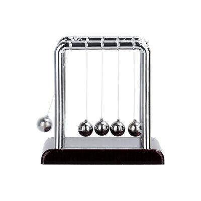 Newtons Cradle Steel Pendulum Balance Ball Desk Home Office Decor Gifts New