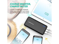 Portable Charger RAVPower 26800mAh Power Brand New Boxed with accesories