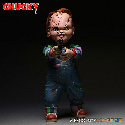 MEZCO - BRIDE OF CHUCKY - CHUCKY - ACTION FIGUR  - NEU/OVP