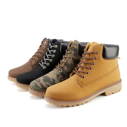 Men's Winter Shoes Waterproof Martin Boots