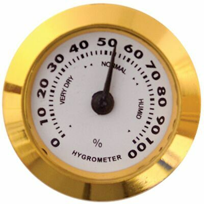 Accurate Adjustable Analog Hygrometer Cigar Humidor Humidity Meter - AE050HF