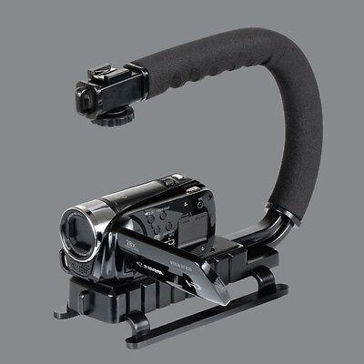 Pro Stabilizer C/U-Shape Bracket Video Handheld Grip For Camcorder Camera DSLR