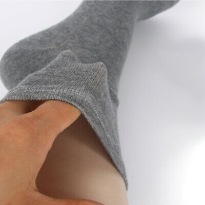 "6 Pairs Womens Grey Gray Diabetic Socks ""Skin contact surface is 100% cotton"""