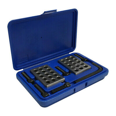 4 Pc Ultra Precision 1-2-3 Blocks .0001 Set Holes Milling Drilling Machining