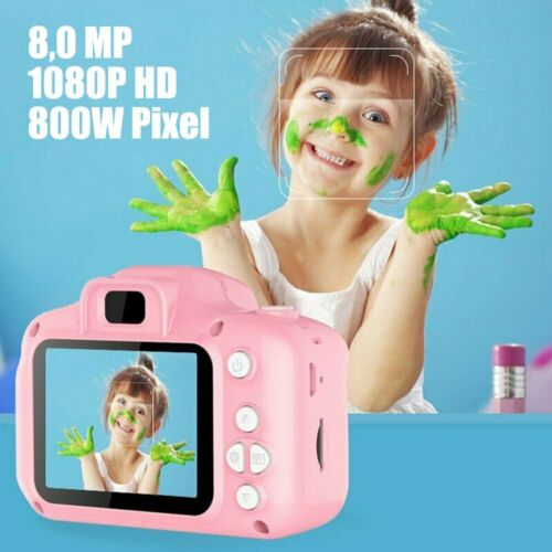 Kinderkamera Digitalkamera Full HD 1080P Für Kinder Foto Cam Urlaub Geschenk DE