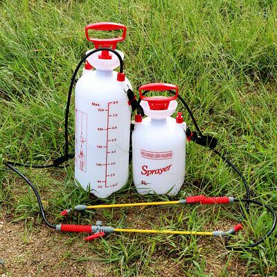 Pump Pressure Sprayer 1/ 2-Gallon Garden Lawn Sprayer Can with Adjustable Nozzle Garden 2 Gallon Sprayer