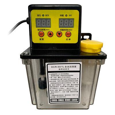 1.0l Lube Oil Pump Automatic Lubrication Pump Oiler Nc Pump 4mm 1.0mpa Us Plug