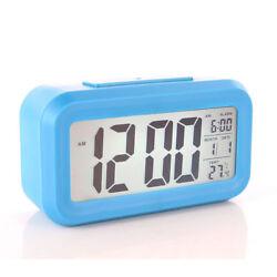 LCD Display Optically Controlled Liquid Crystal Alarm Clock Time Calendar Temp