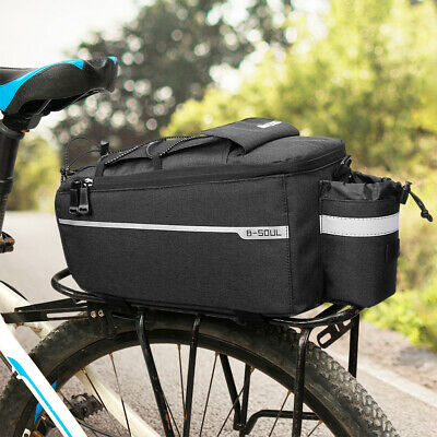 (Insulated Trunk Cooler Bag Cycling Bicycle Rear Rack Storage Luggage Bag Q7C9)