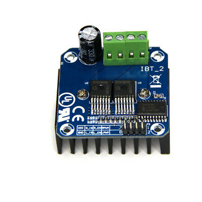 Bts7960 Dc 43a Stepper Motor Driver Module H-bridge Pwm For Arduino Smart Car