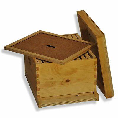 Single 10 Frame Deep Brood Box Beginners Beehive Kit - Gl1stack