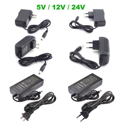 AC TO DC 5V 12V 24V 1A 2A 3A 5A 10A 0.5A Power Supply Adapte