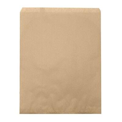 100 Brown Kraft Paper Bags Gift Bags Merchandise Bags 10x 13