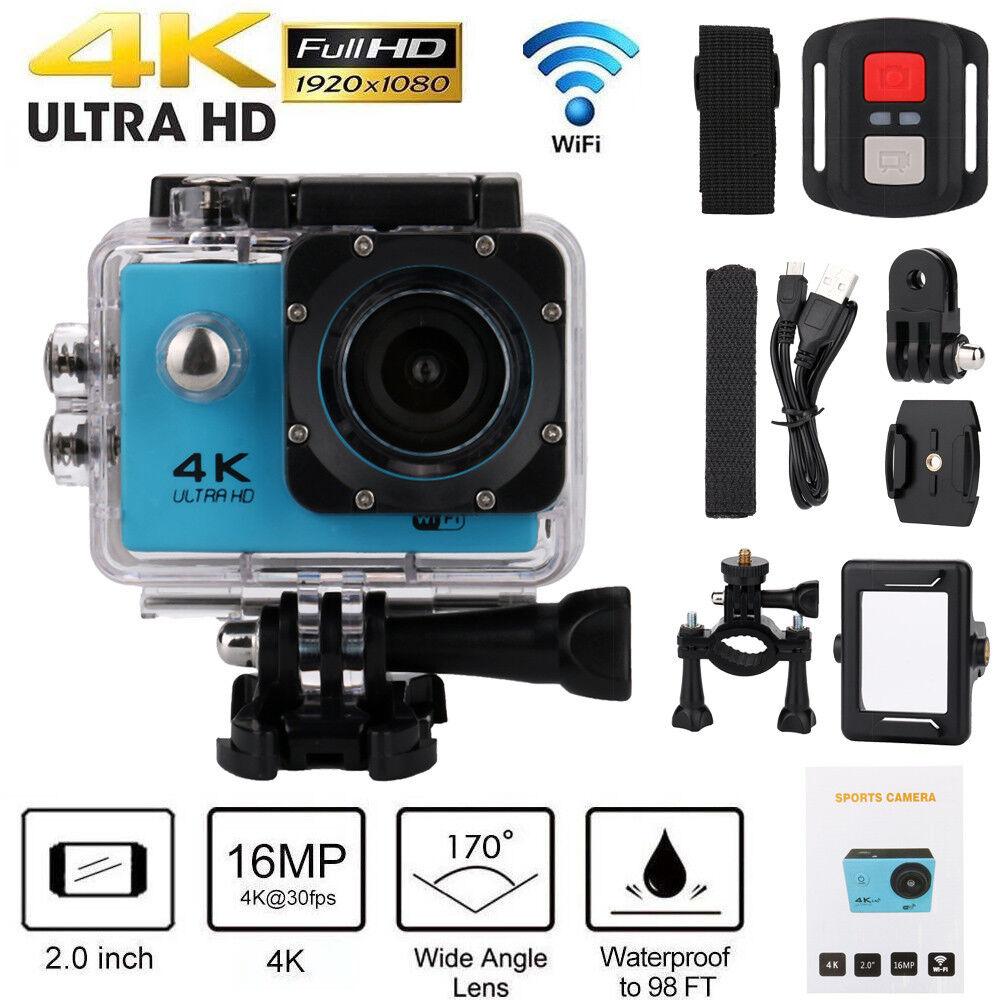 SJ9000 Wifi 4K 1080P Ultra HD Sport Action Camera DVR DV Camcorder Waterproof CO